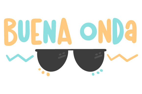Download Free Buena Onda Svg Cut File By Creative Fabrica Crafts Creative for Cricut Explore, Silhouette and other cutting machines.