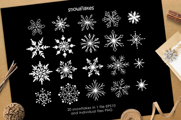 Print on Demand: Christmas Vector Graphic Set Graphic Illustrations By Nata Art Graphic - Image 2