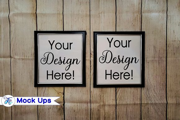 Picture Frame Mock Ups Graphic By Family Creations
