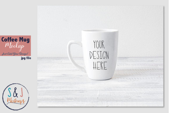 Download Free Coffee Mug Mockup Photo Tea Cup Mockup Graphic By Sandjmockups for Cricut Explore, Silhouette and other cutting machines.