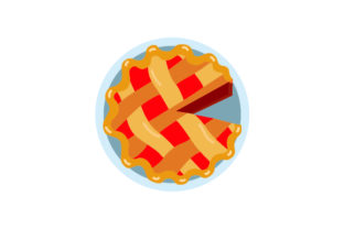 Apple Pie Thanksgiving Craft Cut File By Creative Fabrica Crafts