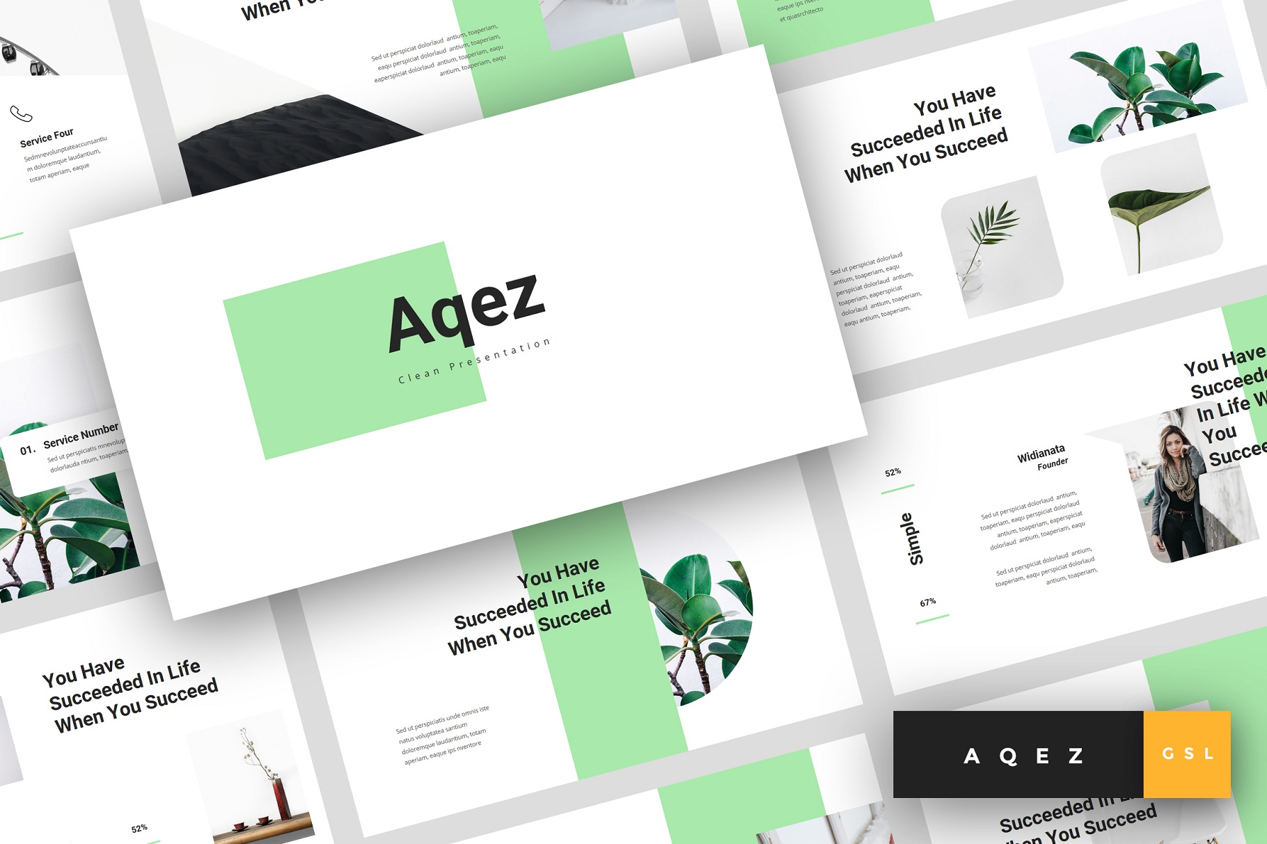 Download Free Aqez Clean Google Slides Graphic By Stringlabs Creative Fabrica for Cricut Explore, Silhouette and other cutting machines.