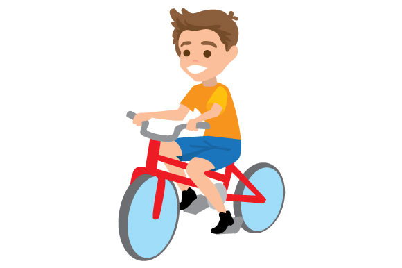 Download Free Boy Riding Bike Svg Cut File By Creative Fabrica Crafts for Cricut Explore, Silhouette and other cutting machines.