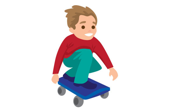 Download Free Boy Riding Skateboard Svg Cut File By Creative Fabrica Crafts for Cricut Explore, Silhouette and other cutting machines.