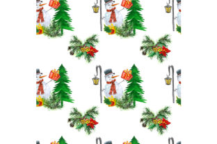 Seamless Christmas Pattern Graphic By Kakva Creative Fabrica