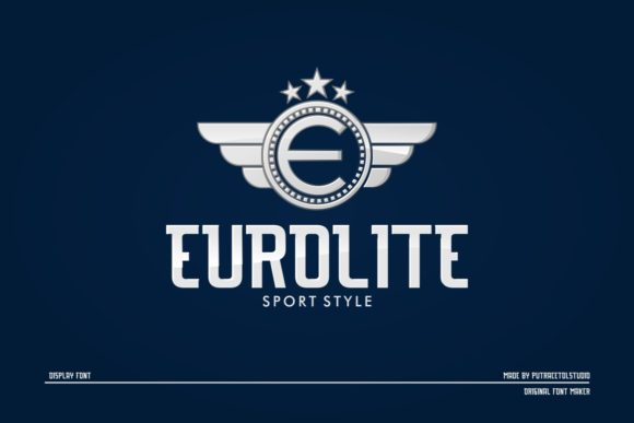 Print on Demand: Eurolite Display Font By putracetol