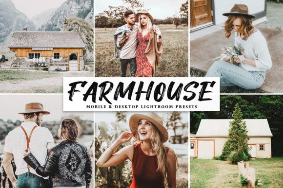 Print on Demand: Farmhouse Lightroom Presets Pack Graphic Actions & Presets By Creative Tacos