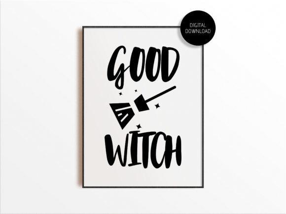 Print on Demand: Good Witch SVG Cut File for Cricut Graphic Crafts By Mockup Venue
