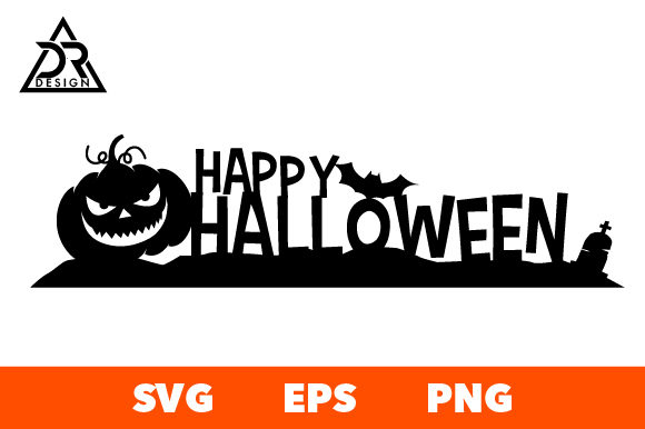 Download Free Happy Halloween Svg Cut File Graphic By Davidrockdesign for Cricut Explore, Silhouette and other cutting machines.