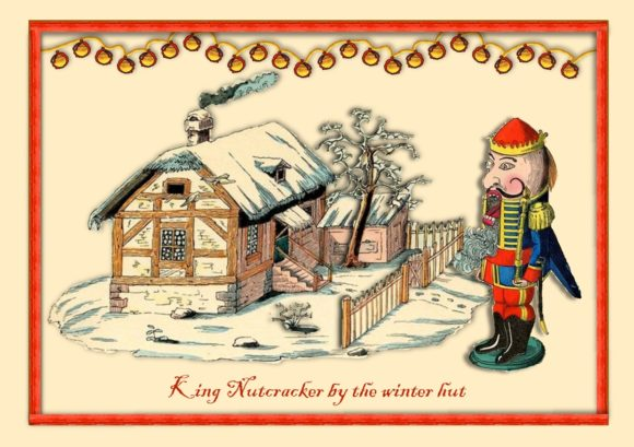 Download Free King Nutcracker Vintage Holiday Set Graphic By Emmie Norfolk for Cricut Explore, Silhouette and other cutting machines.