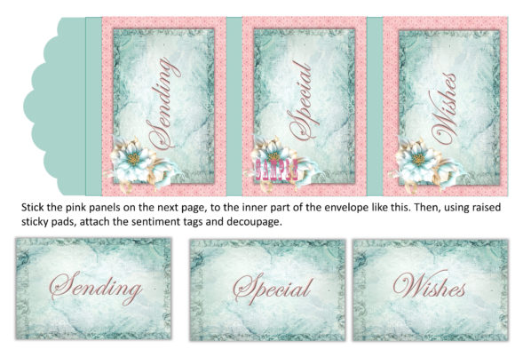 Print on Demand: Victorian Greeting Card Ephemera Kit Graphic Crafts By The Paper Princess - Image 5