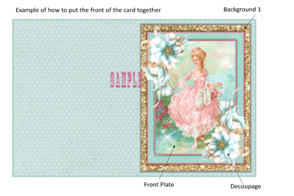 Print on Demand: Victorian Greeting Card Ephemera Kit Graphic Crafts By The Paper Princess - Image 2