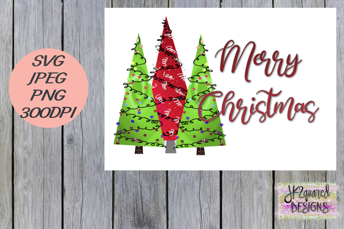 Download Free Merry Christmas Graphic By Jk2quareddesigns Creative Fabrica for Cricut Explore, Silhouette and other cutting machines.