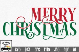 Merry Christmas SVG Cut File Graphic By oldmarketdesigns