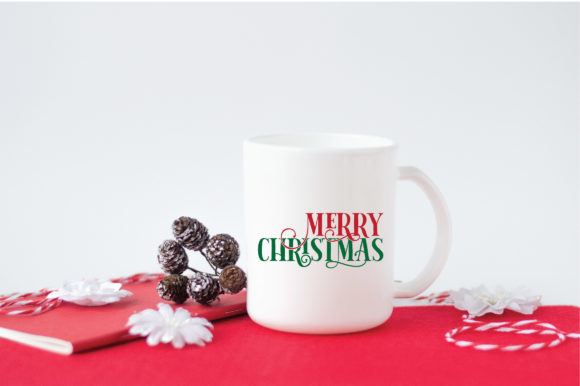 Merry Christmas SVG Cut File Graphic Crafts By oldmarketdesigns - Image 3