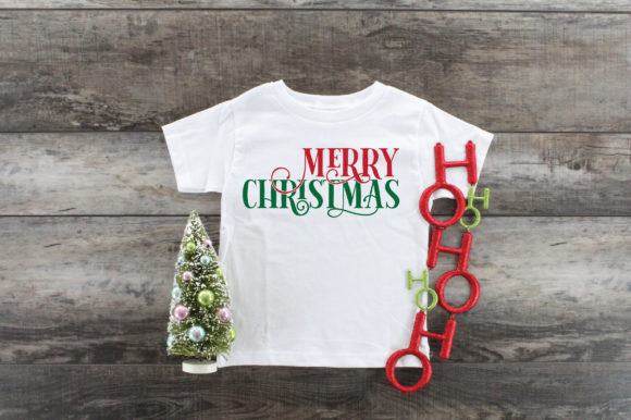 Merry Christmas SVG Cut File Graphic Crafts By oldmarketdesigns - Image 6