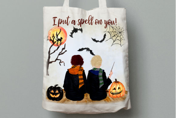 Halloween Girls Clipart Graphic By Lecoqdesign Creative Fabrica