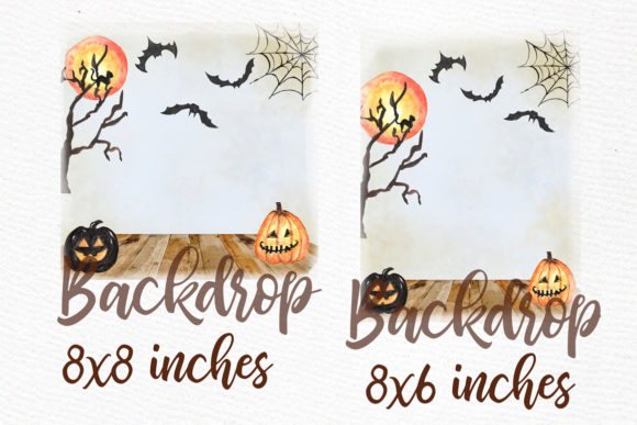 Halloween Girls Clipart Graphic Illustrations By LeCoqDesign - Image 4