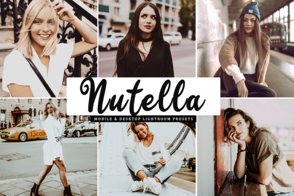 Nutella Lightroom Presets Pack Graphic Actions & Presets By Creative Tacos