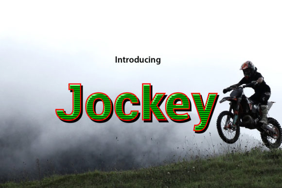 Jockey Sans Serif Font By da_only_aan