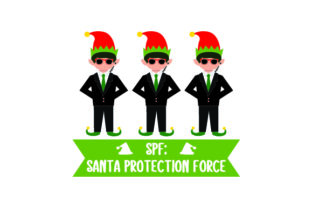 SPF Santa Protection Force Craft Design By Creative Fabrica Crafts