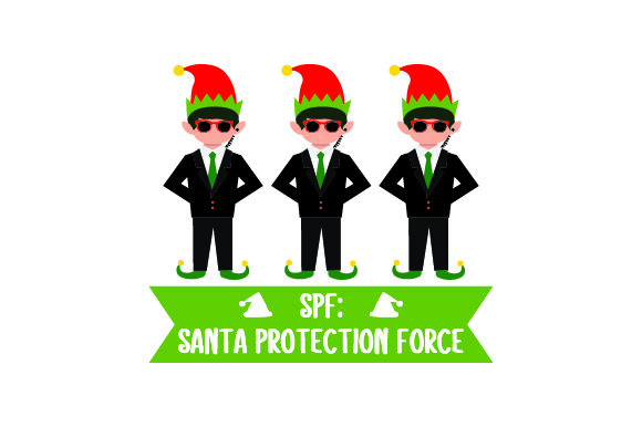 Download Free Spf Santa Protection Force Svg Cut File By Creative Fabrica for Cricut Explore, Silhouette and other cutting machines.
