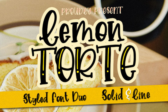 Download Free Lemon Torte Font By Dmletter31 Creative Fabrica for Cricut Explore, Silhouette and other cutting machines.