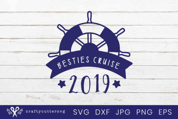 Download Free Besties Cruise Trip 2019 Svg Shirt Graphic By Craftycuttersvg for Cricut Explore, Silhouette and other cutting machines.