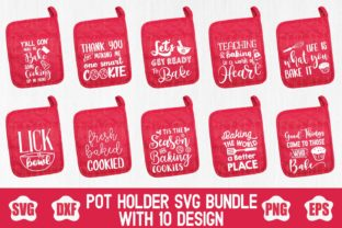 Pot Holder Svg Bundle Graphic By creativespace