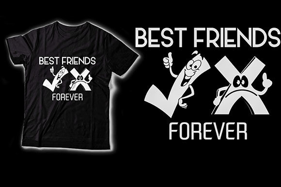 Best Friends Graphic Crafts By HASSHOO