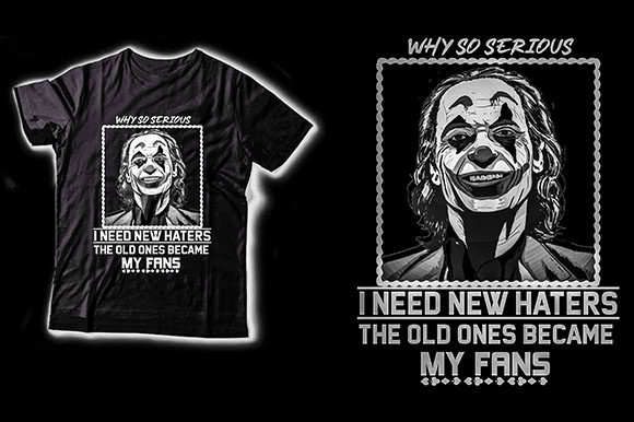 Why so Serious! Graphic Crafts By ShirtGraphic