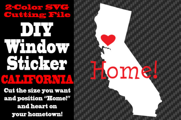 Download Free California 2 Color Svg Cutting File Graphic By Idrawsilhouettes for Cricut Explore, Silhouette and other cutting machines.
