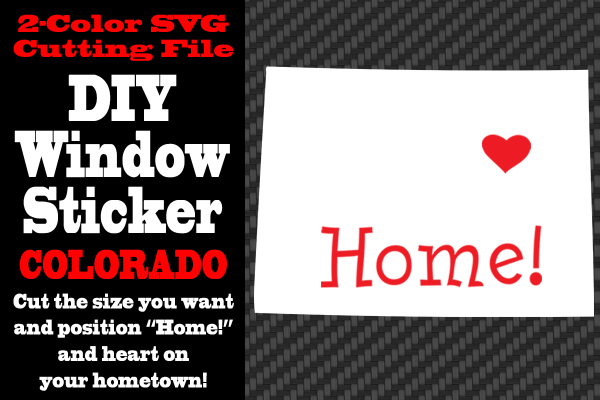 Download Free Colorado 2 Color Svg Cutting File Graphic By Idrawsilhouettes for Cricut Explore, Silhouette and other cutting machines.