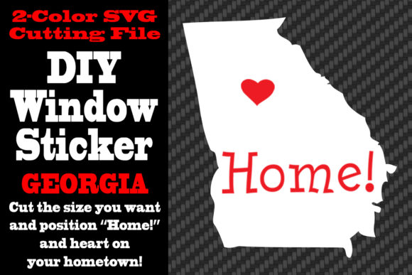 Download Free Georgia 2 Color Svg Cutting File Graphic By Idrawsilhouettes for Cricut Explore, Silhouette and other cutting machines.