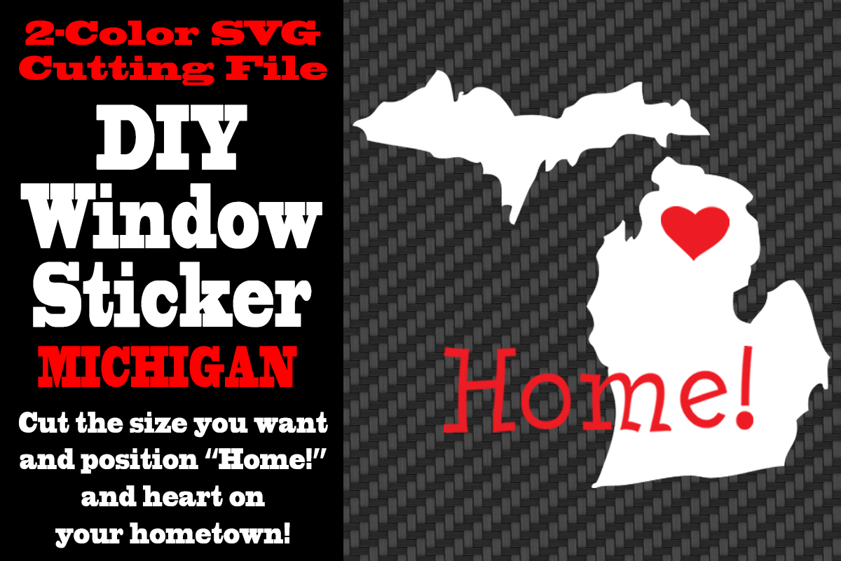 Download Free Michigan 2 Color Svg Cutting File Graphic By Idrawsilhouettes for Cricut Explore, Silhouette and other cutting machines.