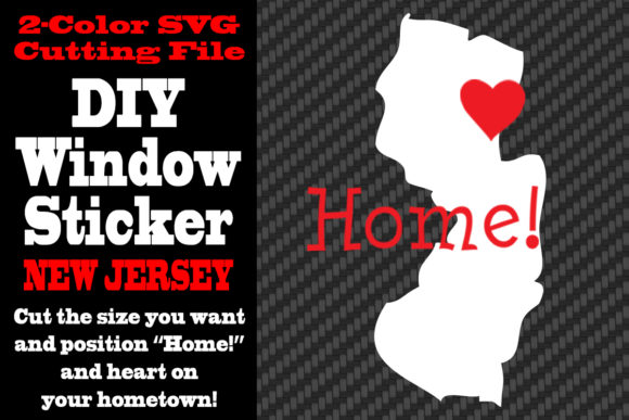Download Free New Jersey 2 Color Svg Cutting File Graphic By Idrawsilhouettes for Cricut Explore, Silhouette and other cutting machines.