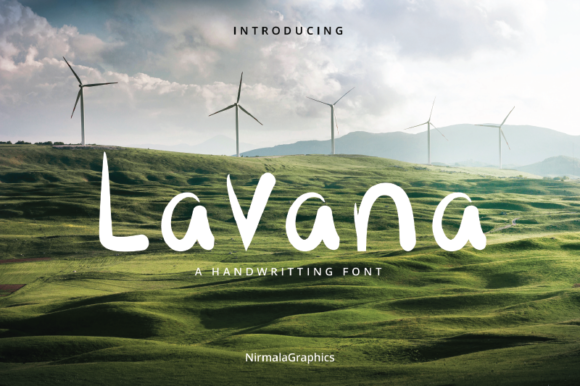 Print on Demand: Lavana Script & Handwritten Font By nirmala.graphics