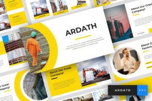 Download Free Ardath Construction Keynote Graphic By Stringlabs Creative for Cricut Explore, Silhouette and other cutting machines.