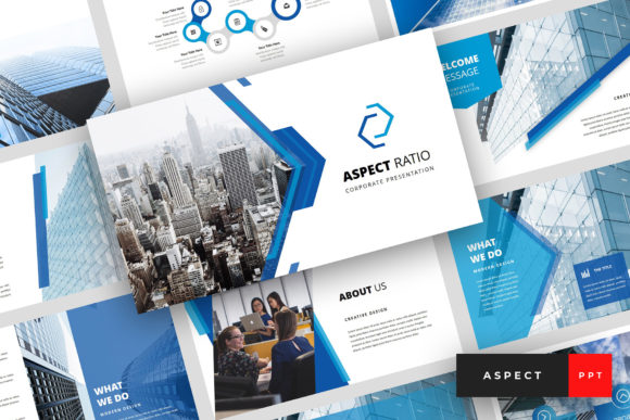 Aspect - Corporate PowerPoint Graphic Presentation Templates By StringLabs