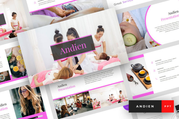 Andien Spa Beauty Powerpoint Graphic By Stringlabs