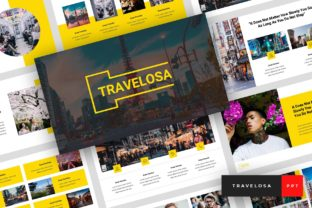 Travelosa - Japanese PowerPoint Graphic Presentation Templates By StringLabs 1
