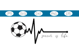 Download Free Soccer Is Life Graphic By Capeairforce Creative Fabrica for Cricut Explore, Silhouette and other cutting machines.
