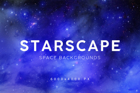 Print on Demand: Space Starscape Backgrounds Graphic Backgrounds By ArtistMef