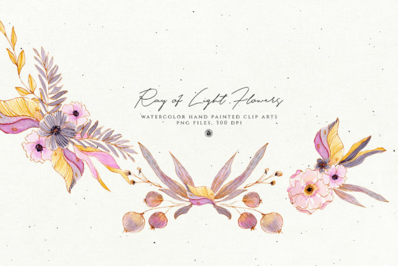 Print on Demand: Ray of Light Flowers Graphic Illustrations By webvilla - Image 6