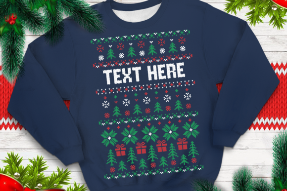 Download Free Ugly Sweater Template 25 Graphic By Svgsupply Creative Fabrica for Cricut Explore, Silhouette and other cutting machines.