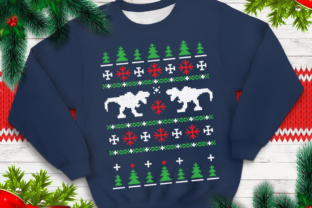 Ugly Sweater Template 29 Graphic By svgsupply