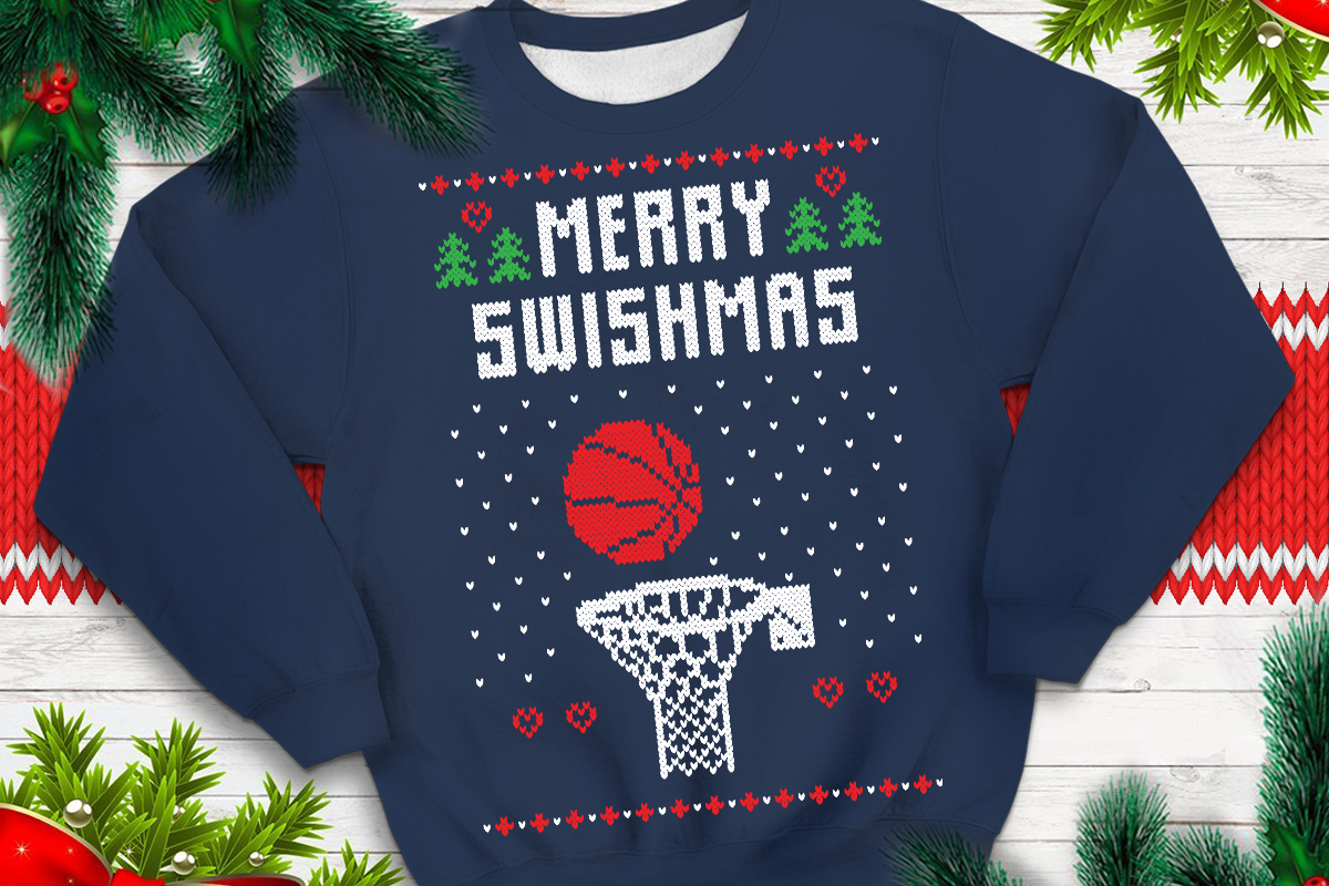 Download Free Merry Swishmas Graphic By Svgsupply Creative Fabrica for Cricut Explore, Silhouette and other cutting machines.