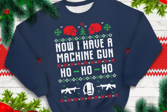 Download Free Now I Have A Machine Gun Graphic By Svgsupply Creative Fabrica for Cricut Explore, Silhouette and other cutting machines.