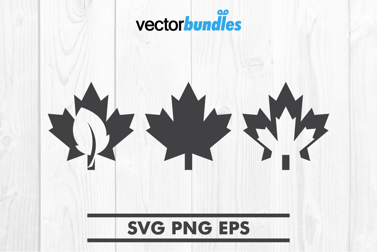 Download Free Maple Leaf Clip Art Svg Graphic By Vectorbundles Creative Fabrica for Cricut Explore, Silhouette and other cutting machines.