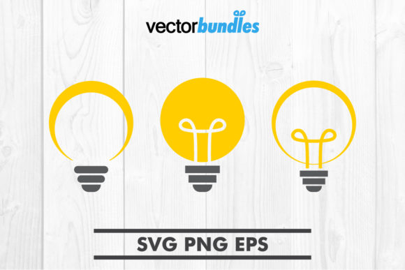 Download Free Lightbulb Clip Art Svg Graphic By Vectorbundles Creative Fabrica for Cricut Explore, Silhouette and other cutting machines.